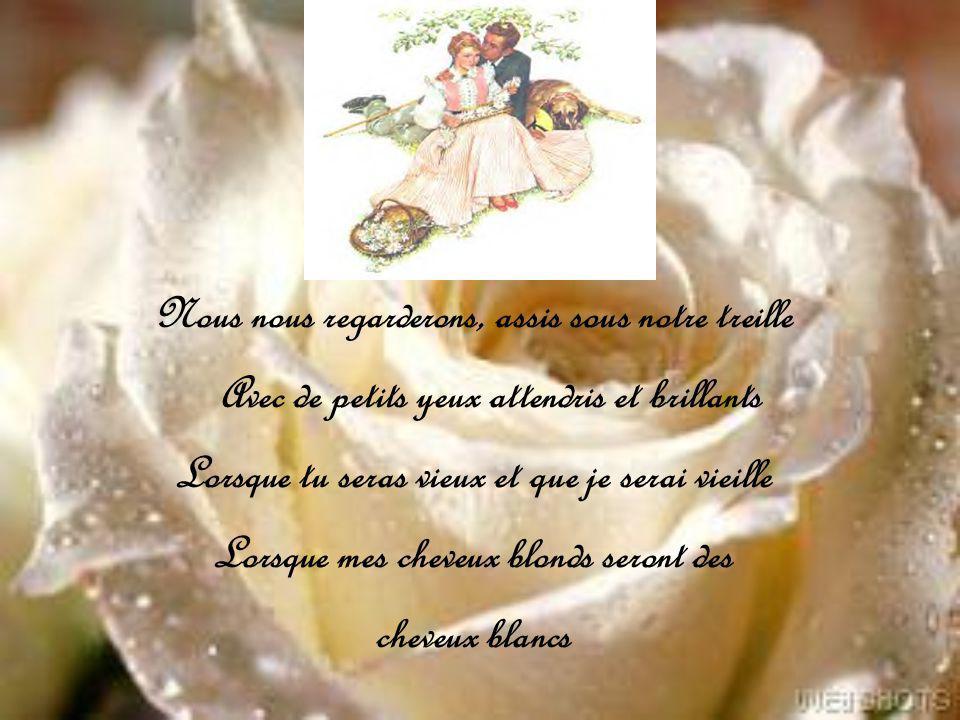 Poème écrit par Rosemonde Gérard 1871/1953 épouse dEdmond Rostand et mère de Jean Rostand Conception : Huguette avril 2005