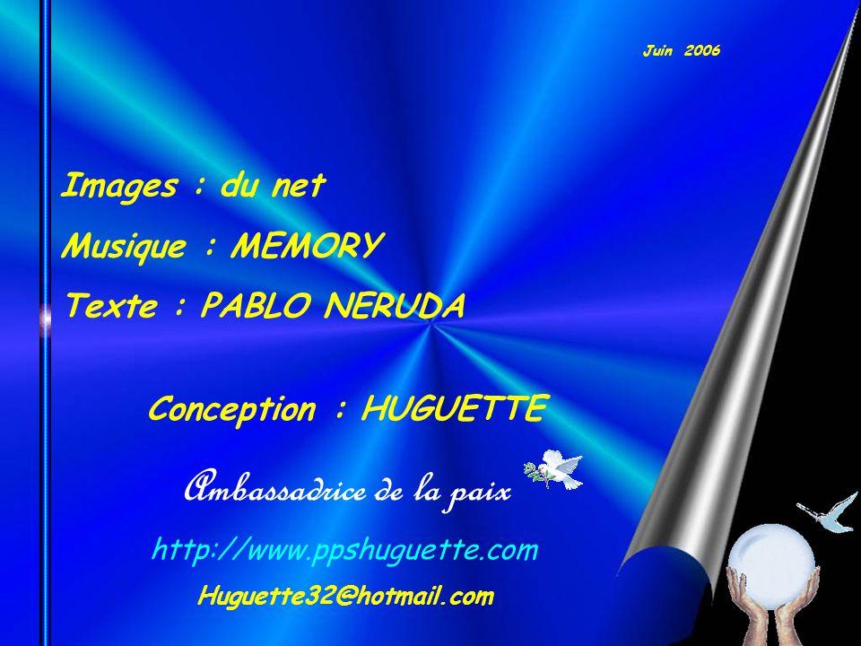 Pablo Neruda (1904-1973) Il reste que je ne suis qu un homme, mais plusieurs vous diront quel homme j ai été.