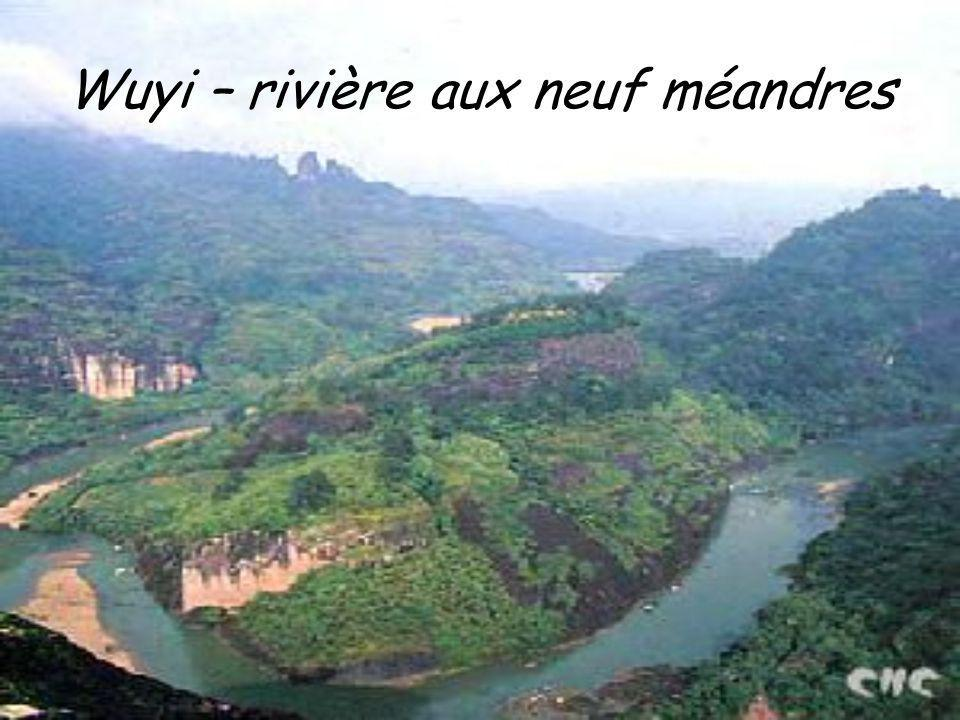 Les monts wuyi