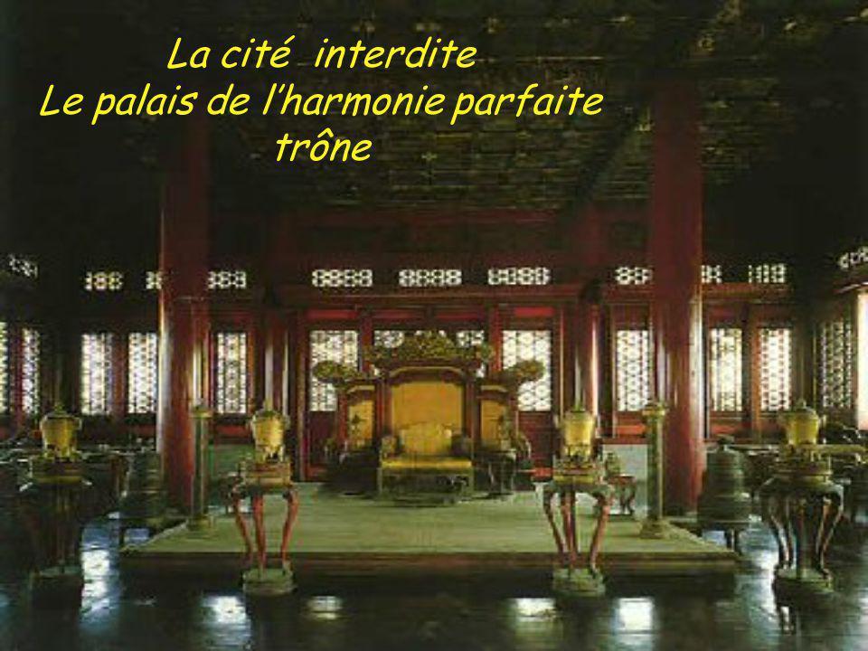 Le palais de lharmonie parfaite