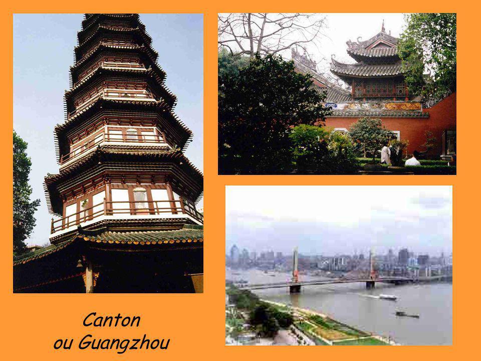 Canton ou Guangzhou