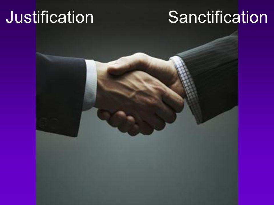Justification Sanctification