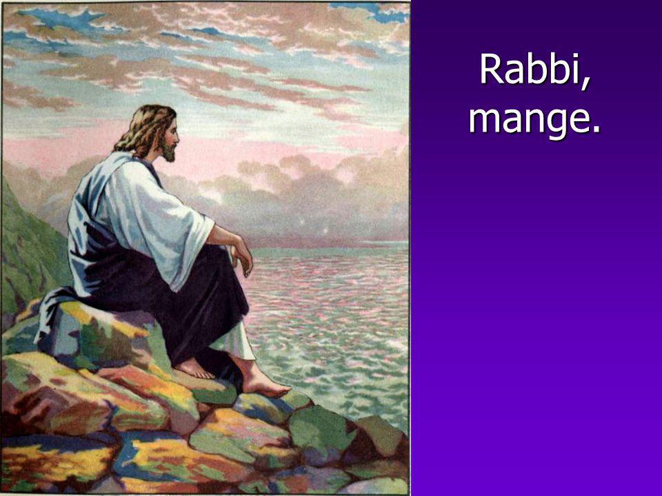 Rabbi, mange.