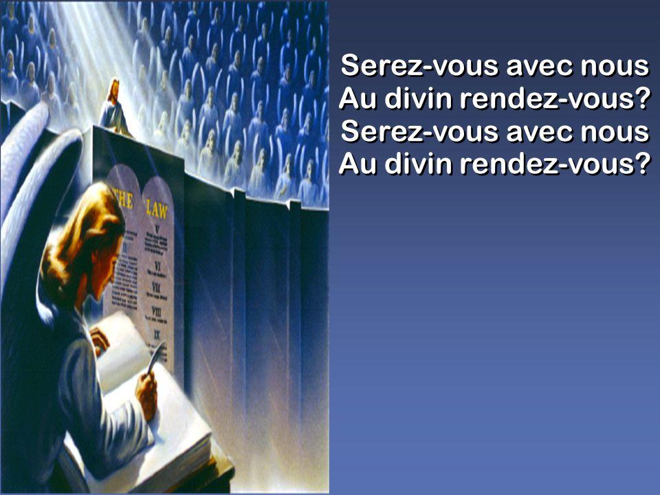 Ouvrez, ouvrez vos cœurs aux appels de la grâce; Aux délices du ciel, Dieu vous invite tous.