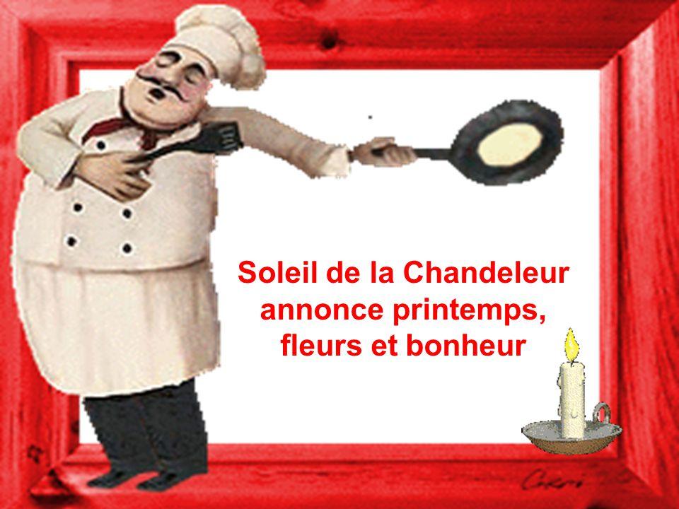 À la Chandeleur, lhiver se meurt ou prend vigueur.