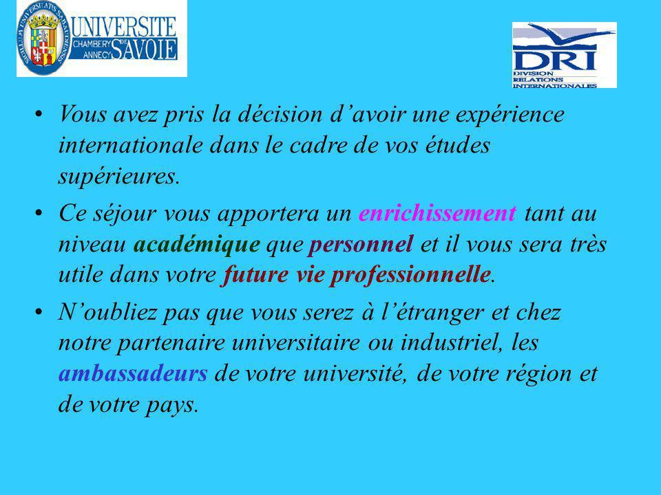 Bourses Erasmus Remarque concernant la Suisse.