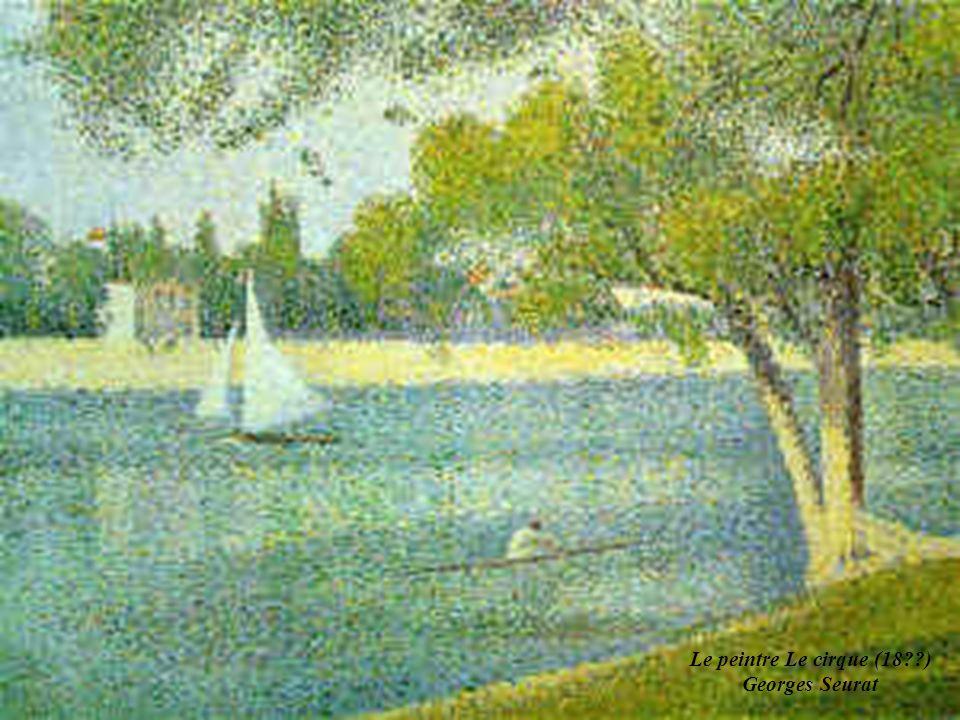 LE POINTILLISME: Application de la synthèse additive à l art pictural Le peintre Georges Seurat (1859-1891) avait expérimenté les mélanges de couleur