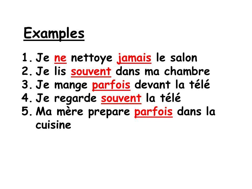 Devoirs Write 3 sentences using the sandwich graphic organizer