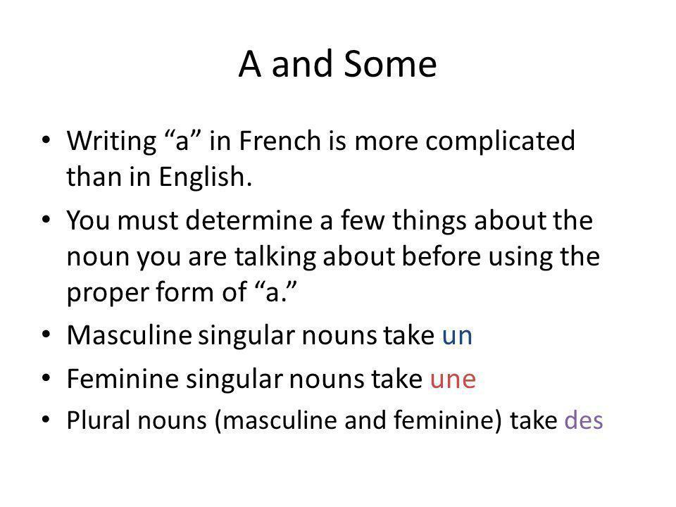 Practice words with the _____ crayon_____ maison(f.) _____ gomme_____ France _____ ciseaux(p.)_____ élève (m./f.) _____ garçon_____ professeur _____ fille_____ ami _____ monsieur_____ amis _____ quiche_____ copine