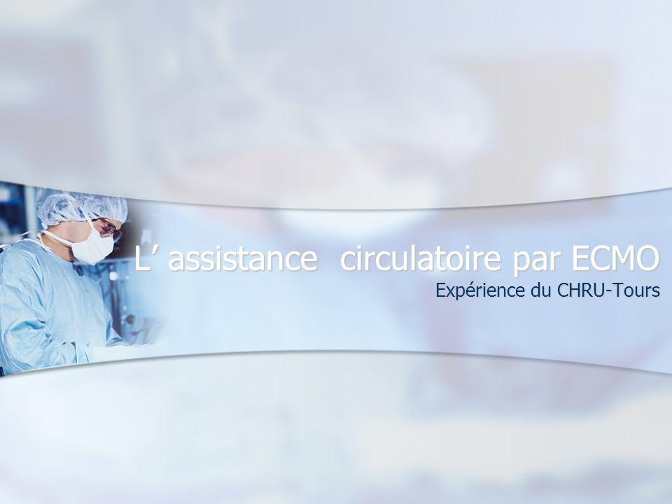 L assistance circulatoire par ECMO Expérience du CHRU-Tours