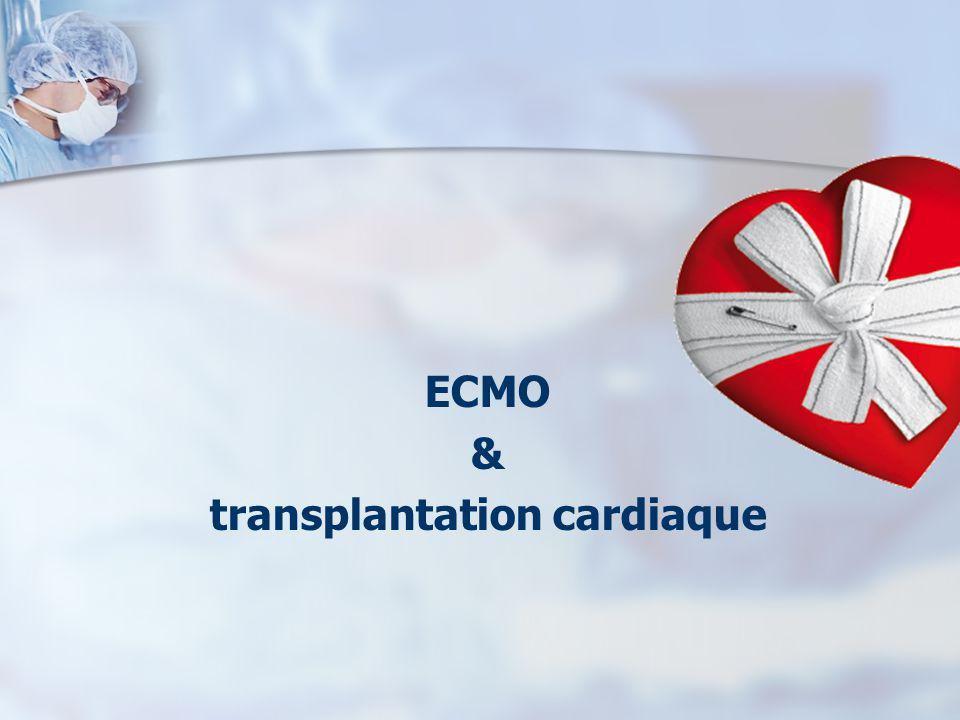 ECMO & transplantation cardiaque