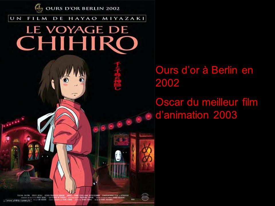 Ours dor à Berlin en 2002 Oscar du meilleur film danimation 2003