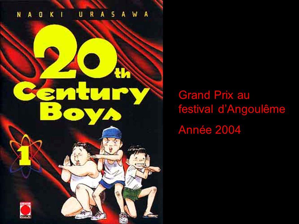 Grand Prix au festival dAngoulême Année 2004
