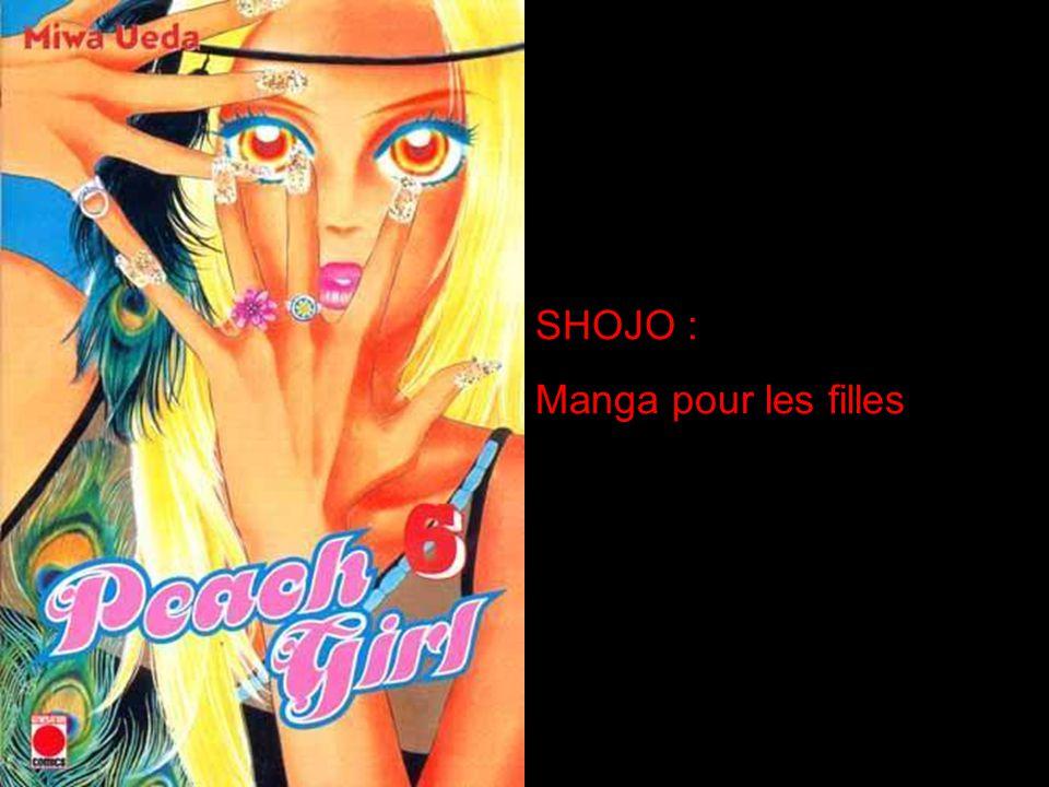 SHOJO : Manga pour les filles