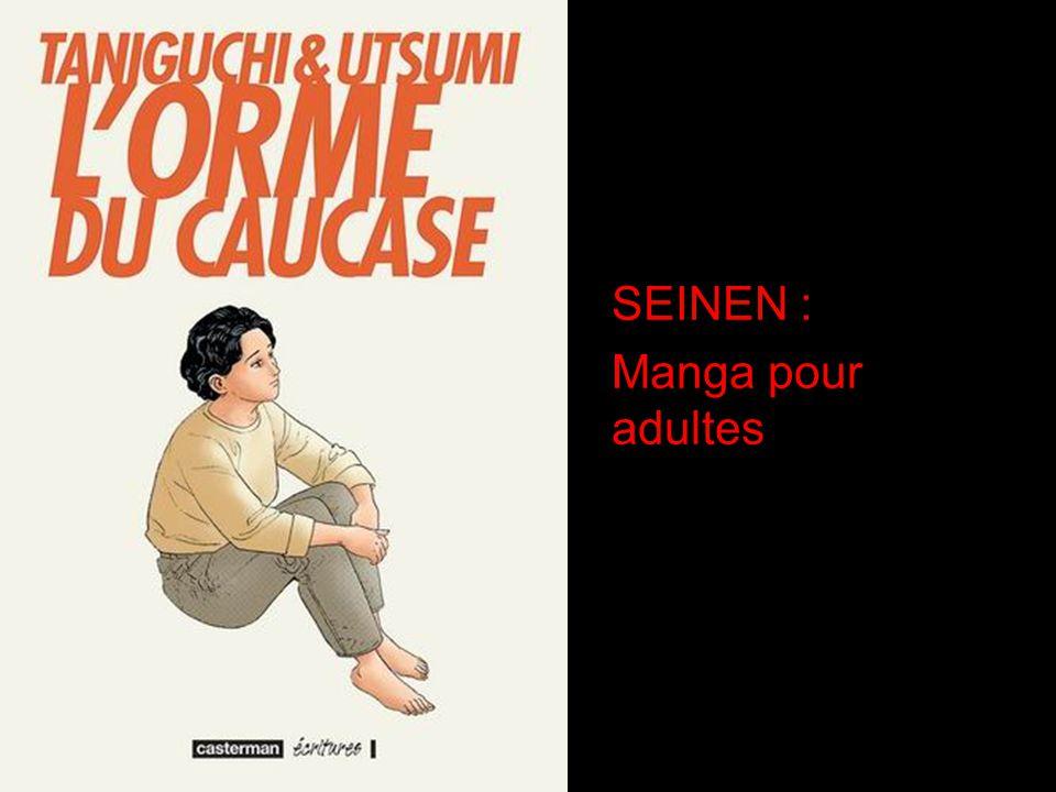 SEINEN : Manga pour adultes