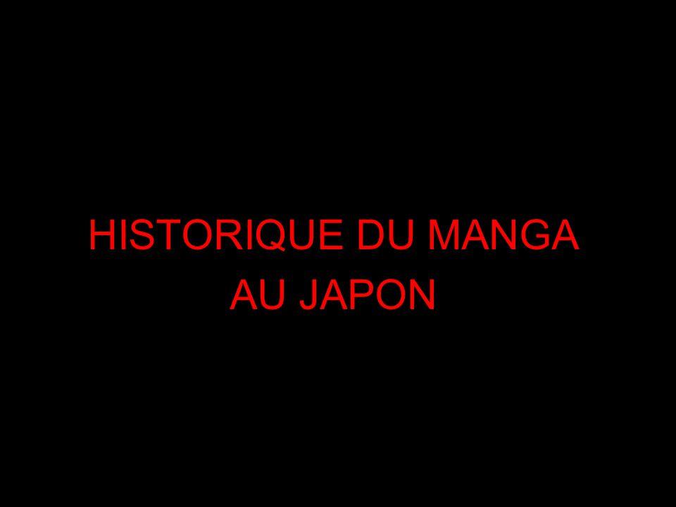 HISTORIQUE DU MANGA AU JAPON