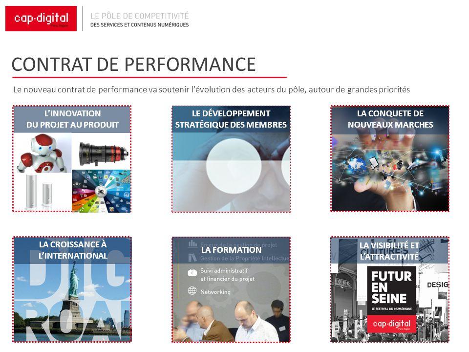 CONTRAT DE PERFORMANCE Le nouveau contrat de performance va soutenir lévolution des acteurs du pôle, autour de grandes priorités LA CROISSANCE À LINTE