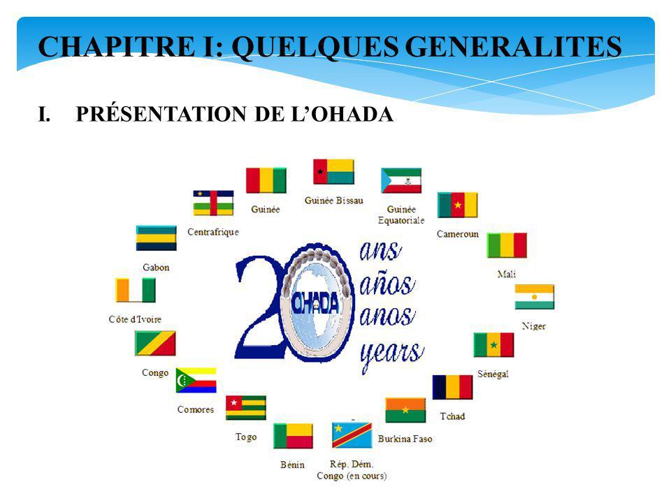 I.PRÉSENTATION DE LOHADA CHAPITRE I: QUELQUES GENERALITES