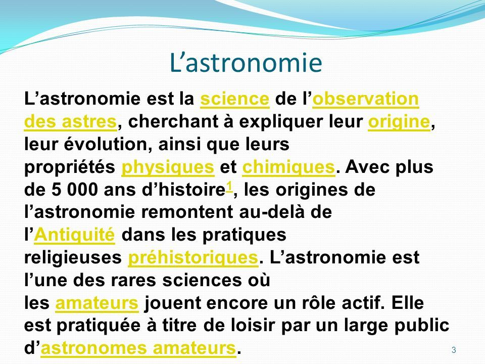 astronome definition