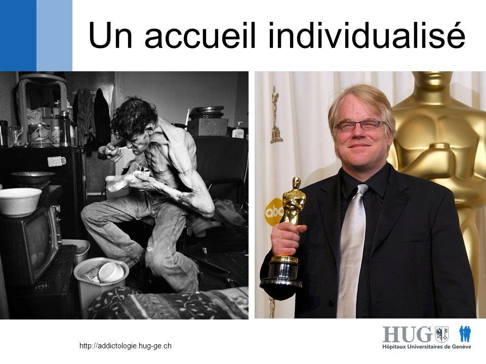 http://addictologie.hug-ge.ch Profil Age Moyenne : 37 ans Première cure : 31 ans