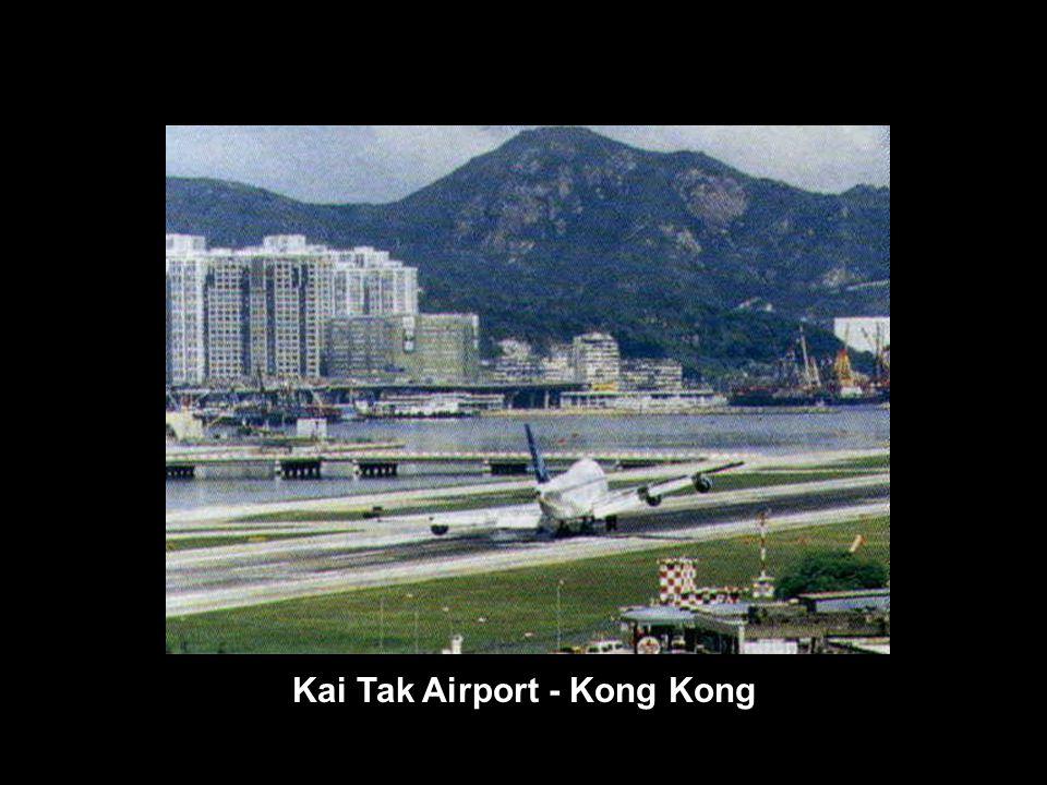 Kai Tak Airport - Kong Kong