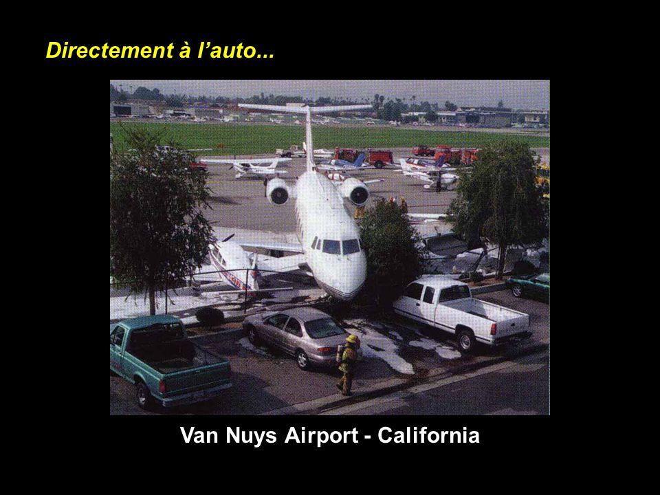 Van Nuys Airport - California Directement à lauto...