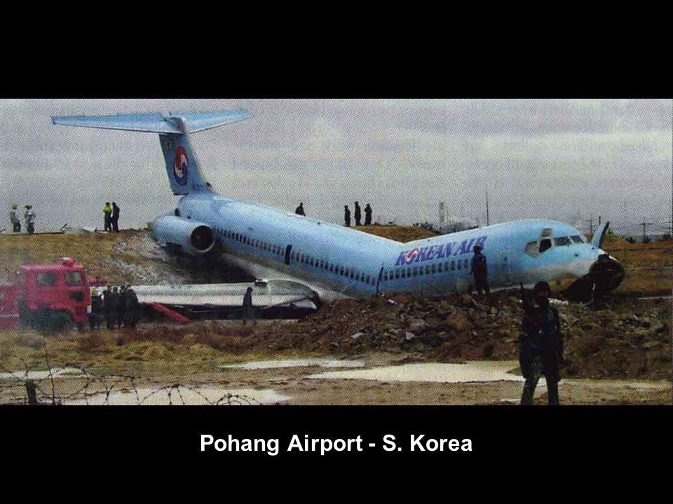 Pohang Airport - S. Korea