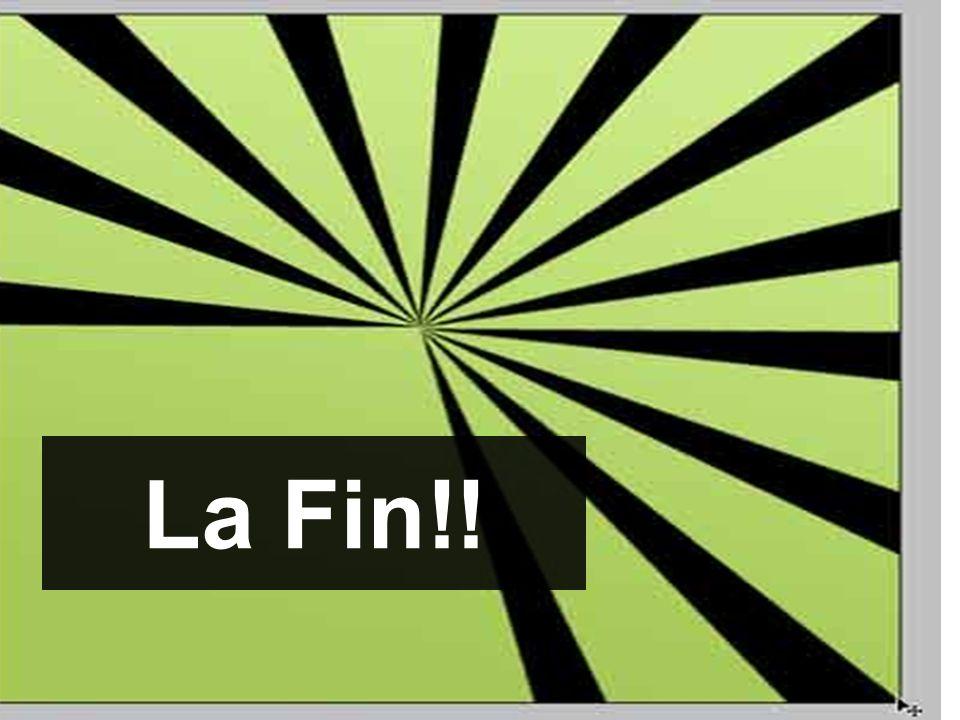 La Fin!!