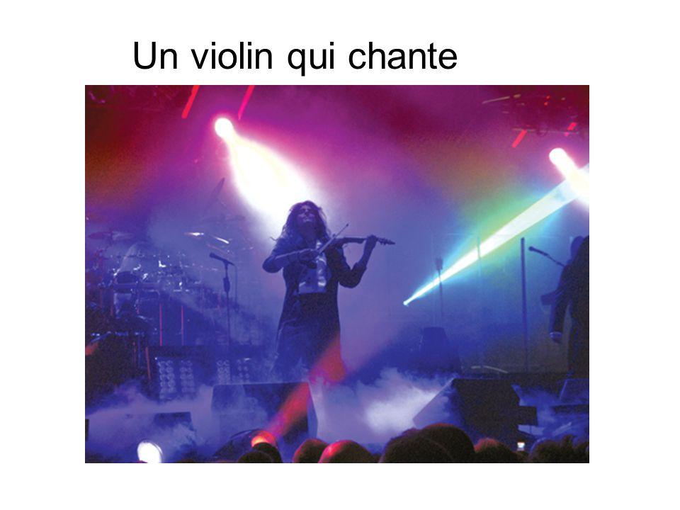 Un violin qui chante