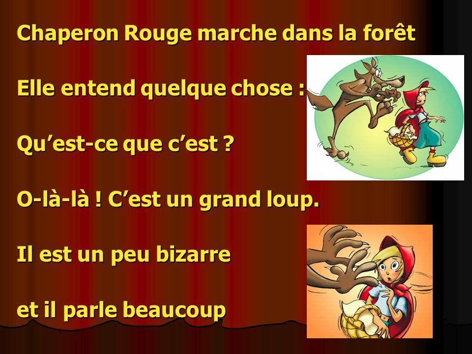 Chaperon Rouge et le loup fou, Chaperon Rouge et le loup fou!