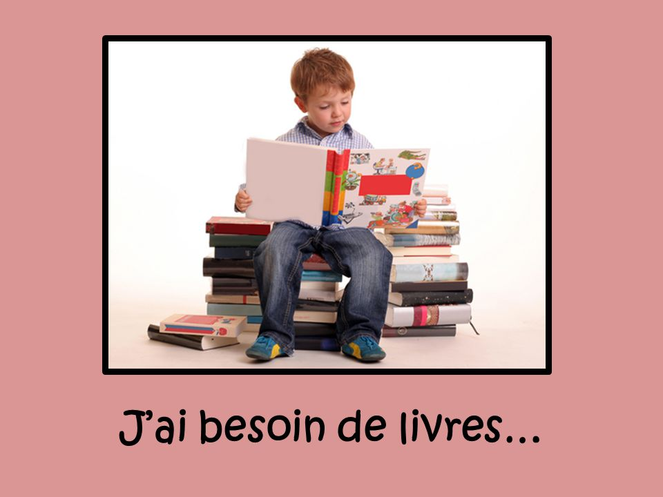 Jai besoin de livres…