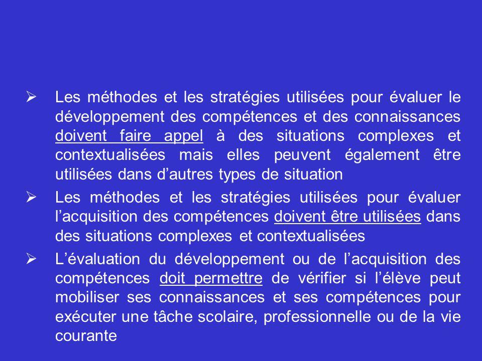 Dans quelle direction doit-on aller? (4) Exemples de lignes directrices en lien avec le principe de conformité aux programmes Le jugement porté sur la