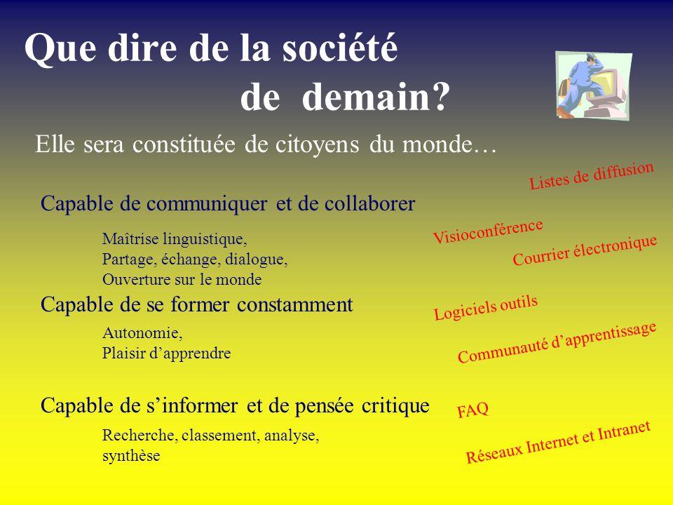 Les TIC et… la RÉFORME Former la société de demain avec les outils daujourdhui! CEMIS de lenseignement privé Ginette Laurendeau