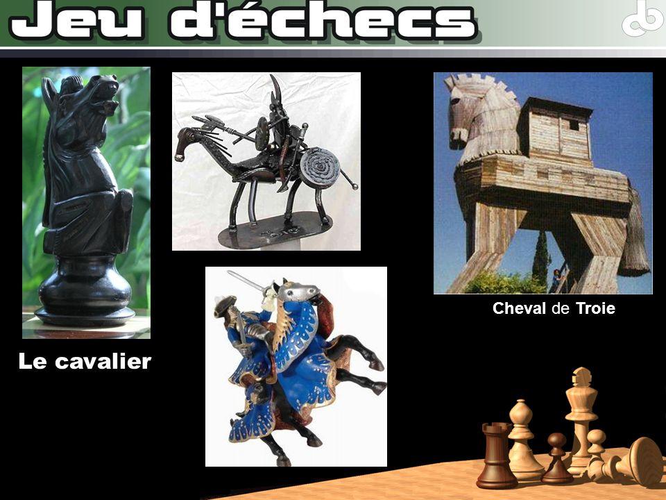 Le cavalier Cheval de Troie