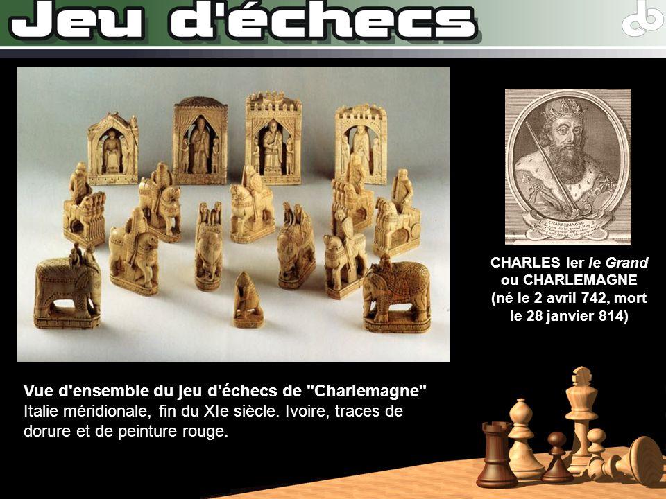 Vue d'ensemble du jeu d'échecs de