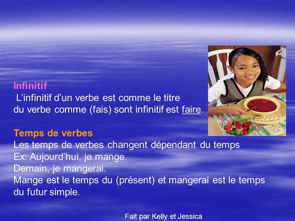 Les Verbes Limportance dun verbe Les verbes sont très importants, car si tu lenlèves, ta phrase ne fera plus de sens. Exemple: Le cochon le journal. l