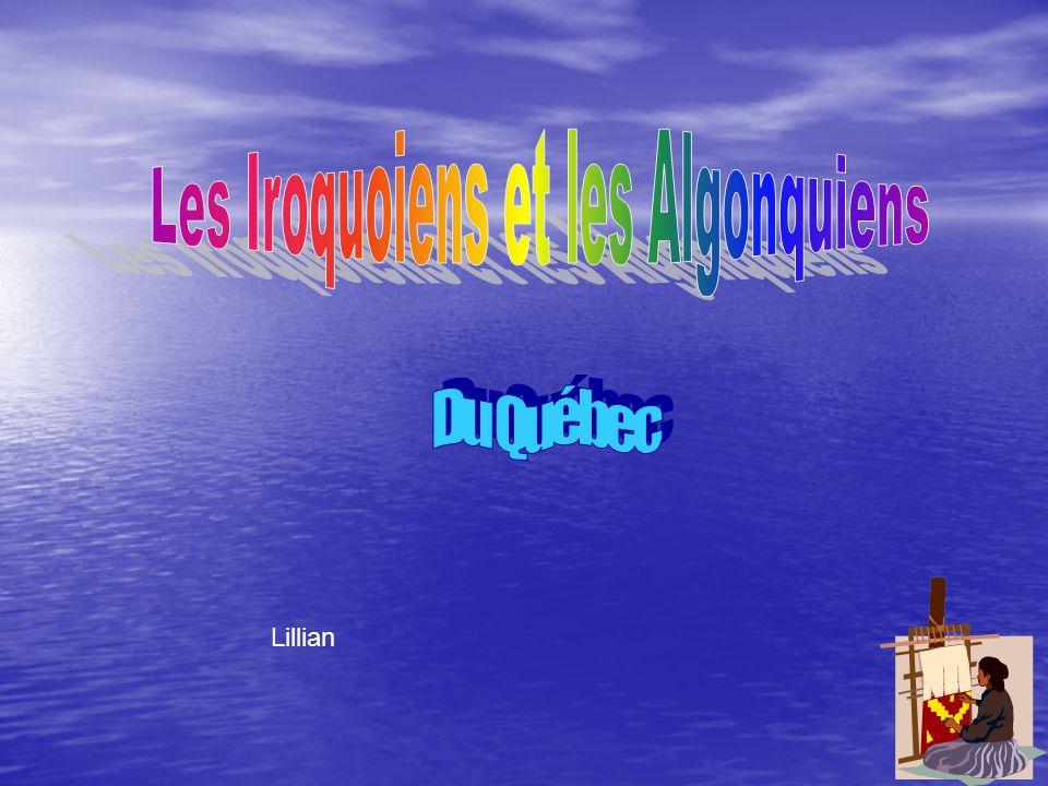 Les Amérindiens Du Québec Vers 1500 Audrey-Ann Kelly et Jessica P3-2005