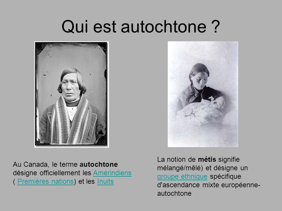 concepts importants: Culture autochtone Bande Convention Droit ancestral Nation Nordicité Revendication Manuel p.217