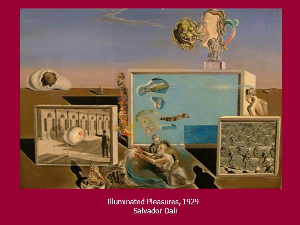 Illuminated Pleasures, 1929 Salvador Dali