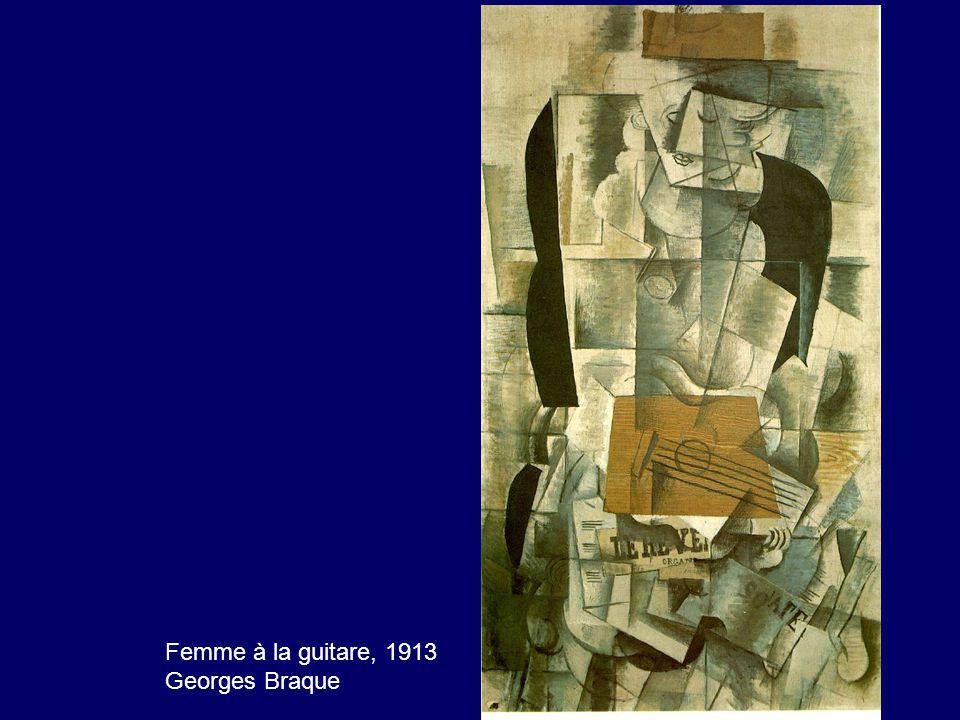 Femme à la guitare, 1913 Georges Braque