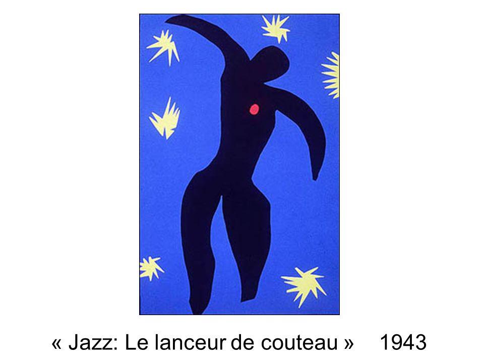 « Jazz: Le lanceur de couteau » 1943