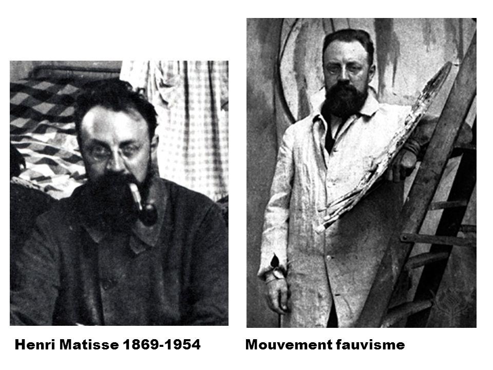 « Portrait de Mme Matisse à la raie verte » Huile sur toile 1905