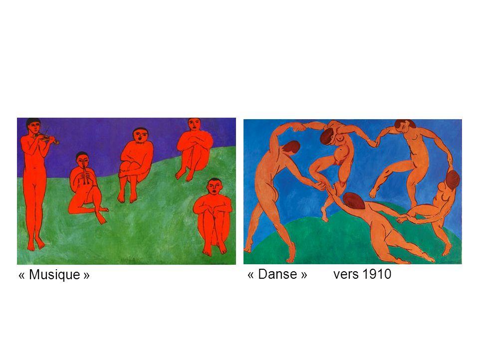 « Danse » vers 1910 « Musique »