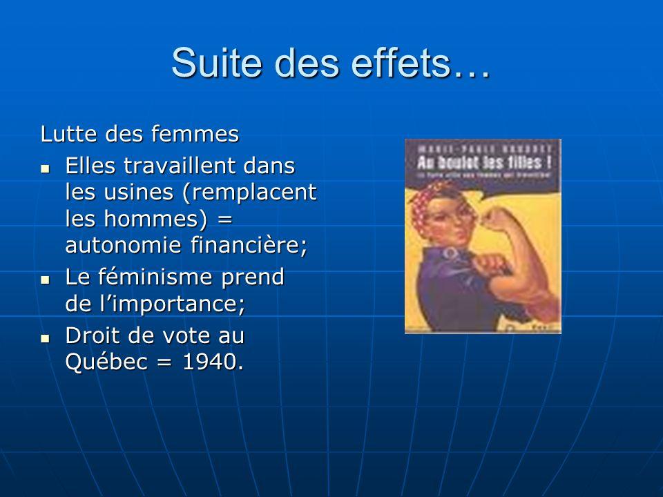 Après la Deuxième Guerre mondiale… Élection au Québec et Godbout est renversé.