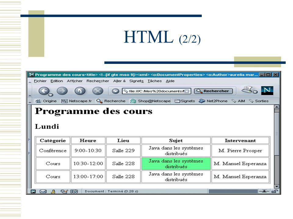HTML (2/2)