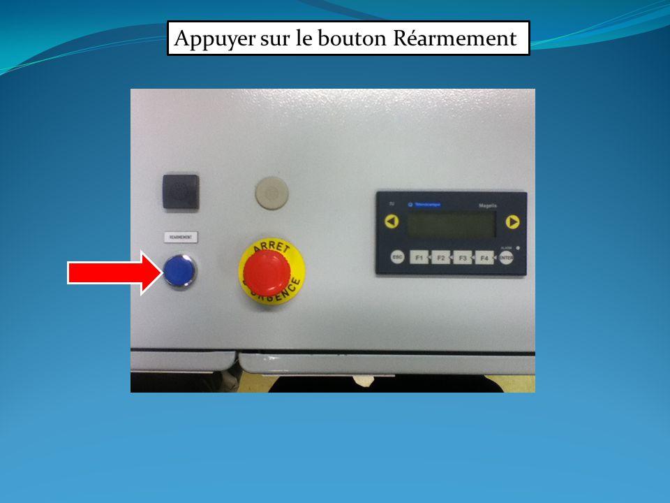 Appuyer sur F2 Sert à choisir lénergie de la machine