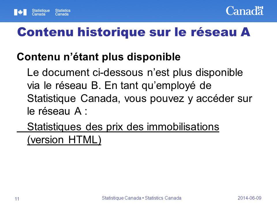 Contenu historique sur le réseau A Contenu nétant plus disponible Le document ci-dessous nest plus disponible via le réseau B.