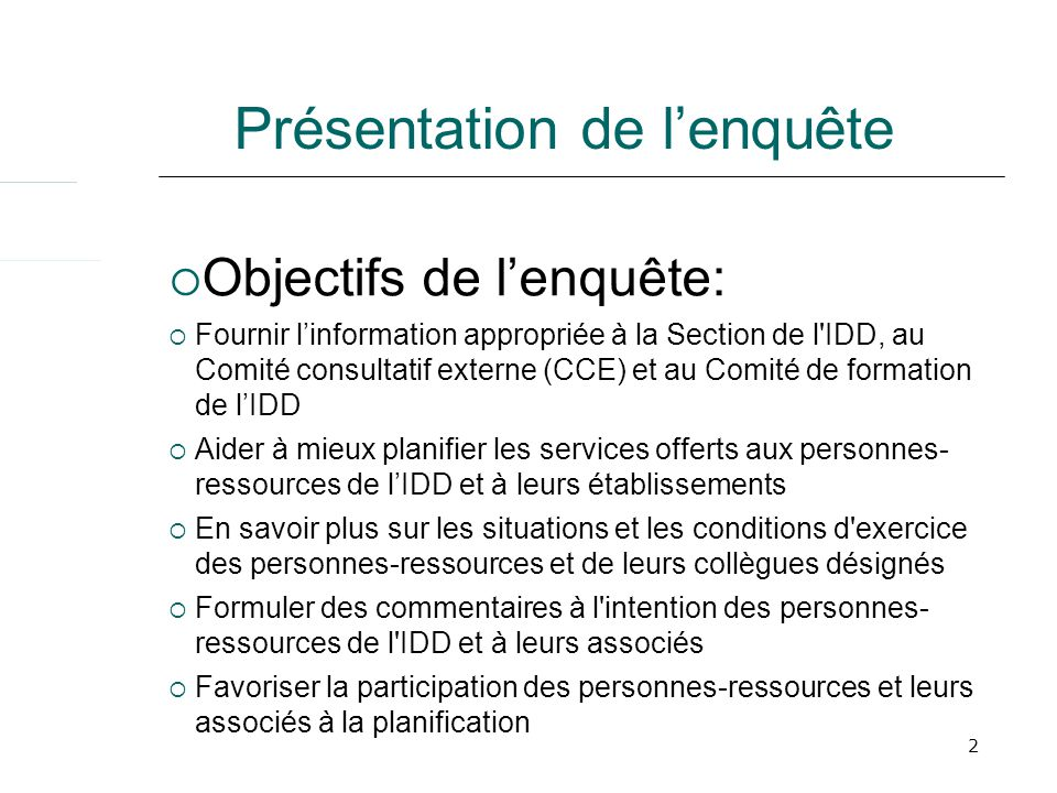 23 Q30 Votre niveau de satisfaction avec les produits et les services de lIDD/Canada