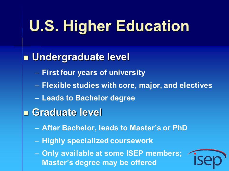 Choisir luniversité 135 universités aux US Offre académique Score tests de langue Site Chance de placement Plusieurs choix