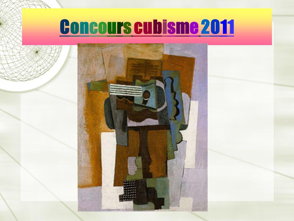 Concours cubisme 2011Concours cubisme 2011
